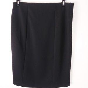 Elle Pencil black skirt size L